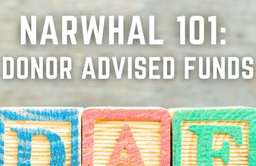 Narwhal 101: Donor Advised Funds