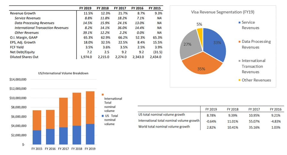 Visa business summary
