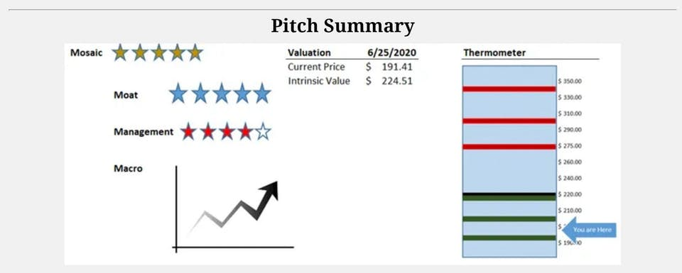 Visa pitch summary
